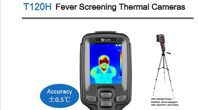 ruční termokamera